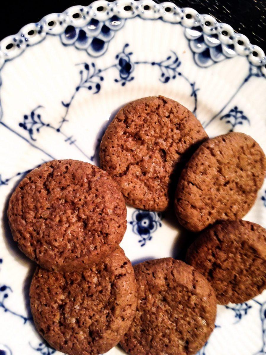 Engelske ginger snaps - småkager med ingefær