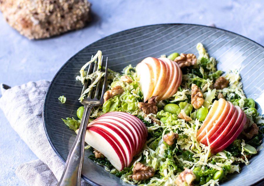 Vintersalat Med Savoykål Og æbler Muttionline