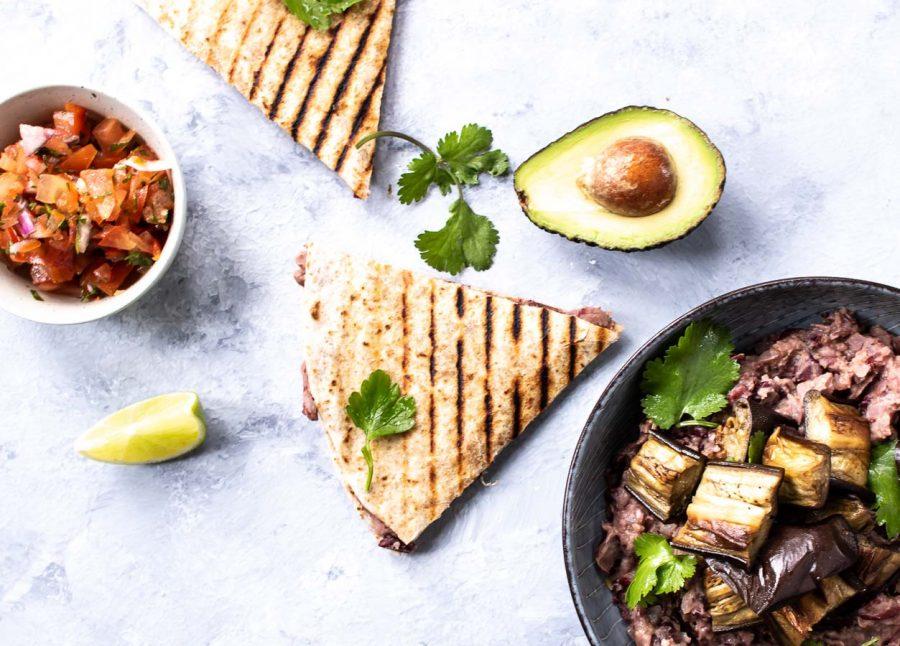 Frijoles - vegetarisk bønnefyld til tortillas