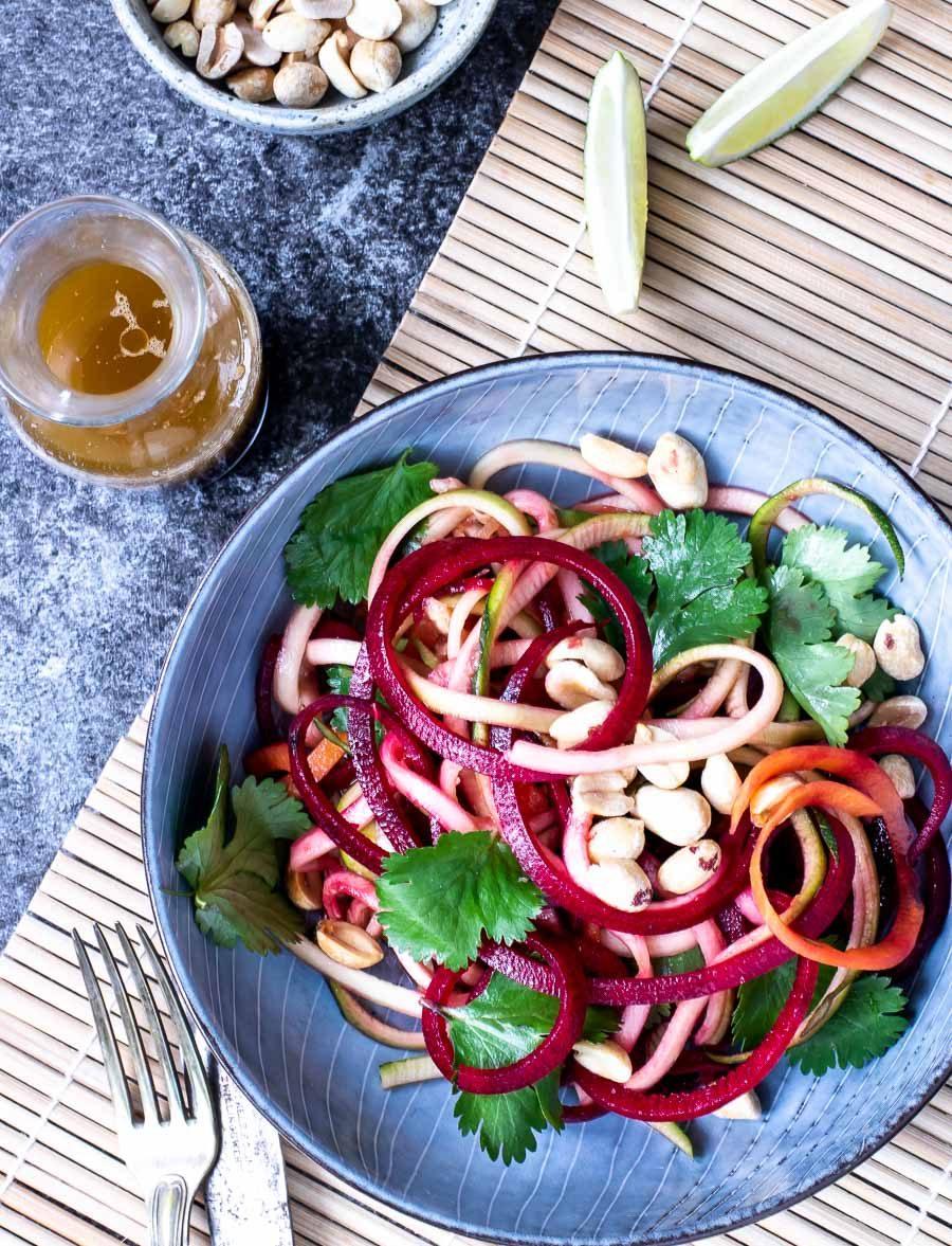 Thaisalat - orientalsk inspireret salat med nordisk twist