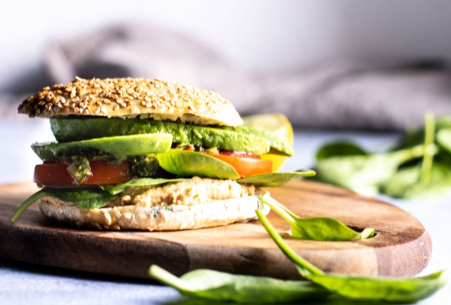 sandwichboller med quinoa og spinat