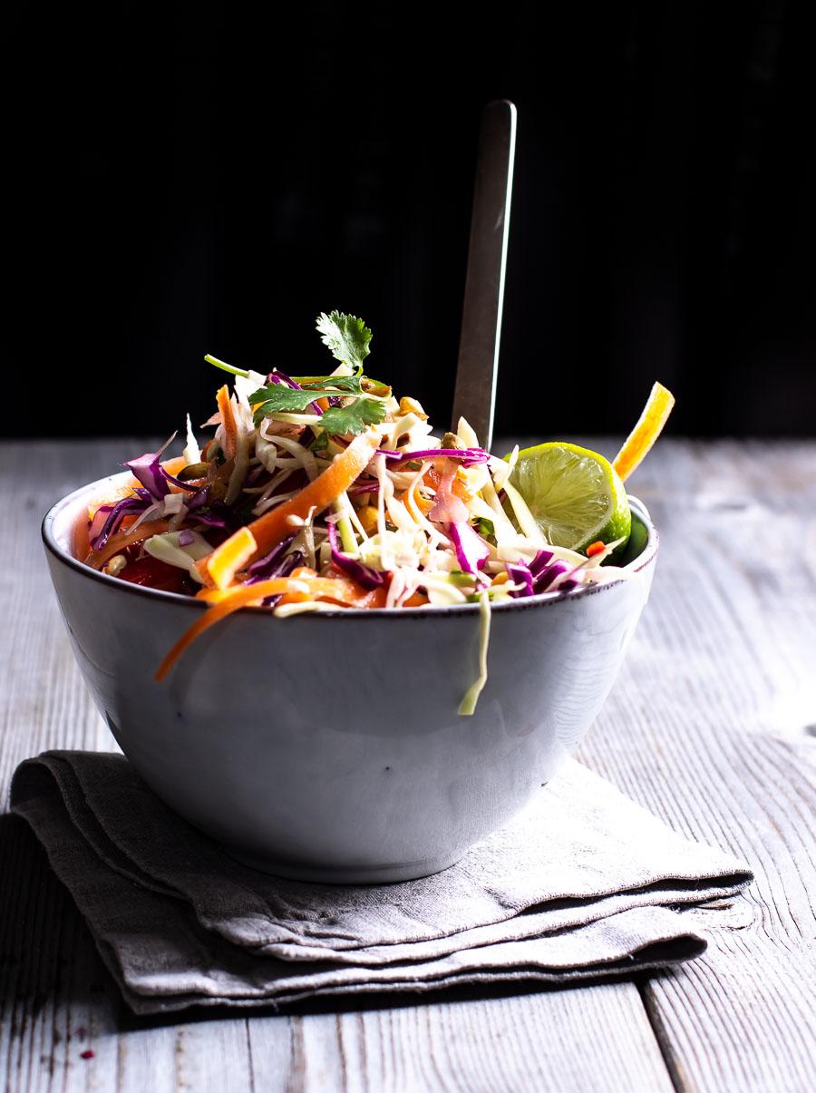 Mexicansk kålsalat - med kulør og smag!