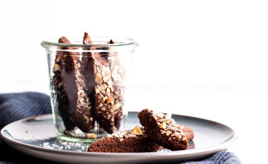 Chokoladesnitter med appelsin - lækre chokoladesmåkager